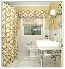 ideas for bathroom curtains ideas bathroom curtains target or valence bright in small window 9