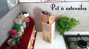 pot ustensiles cuisine diy brico pot à ustensiles cuisine