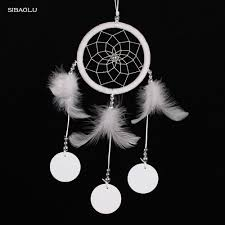 white feather dreamcathcer new design 2016 home wall wedding decor