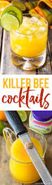 killer bee cocktails cocktail recipes and bees