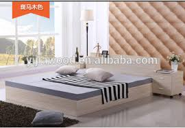Modern Simple Bedroom Particle Board Bed Modern Simple Bed Korean Japanese Buy