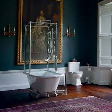 Bathroom With Shower Shower Baths P Shaped U0026 L Shaped Bathtubs For Showering Drench