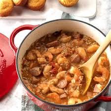 cuisine of louisiana louisiana jambalaya recipe taste of home