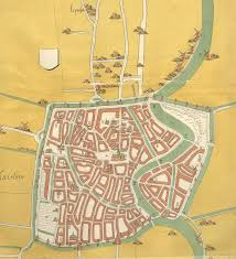 Map Of Holland Map Of Haarlem The Netherlands Ca 1550 Maps Pinterest Haarlem