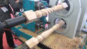 cnc wood copy lathe machine for furniture youtube