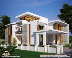 Kerala Home Plan Single Floor Modern Architectural House Design Contemporary Home Designs