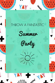 summer party ideas invitation u0026 free printables oh my creative