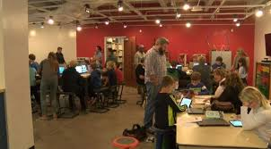 coder class coder 906 community coding class teaches youth about programming