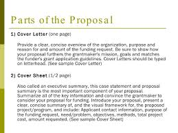 cover letter for grant proposal sample ideas collection sample of