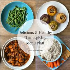 delicious and healthy menu plan for small groups