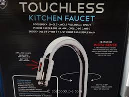 Hands Free Kitchen Faucet 100 Sensor Kitchen Faucet Steel Motion Sensor Kitchen