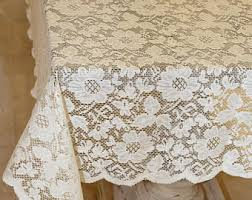 lace tablecloth etsy