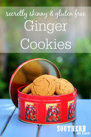 southern in law recipe secretly skinny ginger cookies