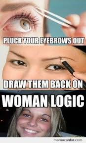 Eyebrows Meme Internet - pluck and put back your eyebrows by ben meme center