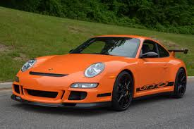 orange porsche 911 gt3 rs collectorscarworld com 2007 porsche 911 997 1 gt3 rs