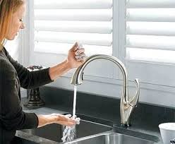 touch free kitchen faucets free kitchen faucet kitchen sustainablepals black free