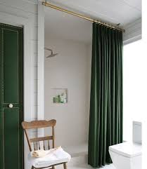 Large Shower Curtains 10 Beautiful Bathroom Makeovers Large Shower Illusions And Tubs