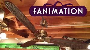 fanimation caruso ceiling fan fanimation windpointe ceiling fan youtube