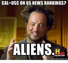 Meme Generator Alien - cal uscon us news rankings aliens history com memegenerator net