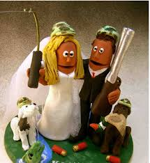 hunting and fishing wedding cake topper png hi res 720p hd