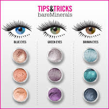 What Goes Well With Blue What Eye Shadow Colors Go Well With Eye Colors A Month Of Makeup