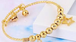 childrens gold necklace childrens gold necklace bracelet for kids best 2018 cross