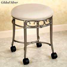 Vanity Stools For Bathrooms Remarkable Swivel Vanity Chair Ideas Vanity Table Stool
