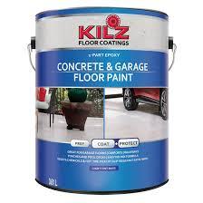 concrete garage floor paint rona