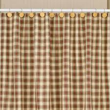 country shower curtains cinnamon 72 x 72