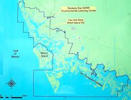 Marcos Island Florida Map Kayaking Rookery Bay National Estuarine Florida