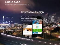 wp themes video background wordpress singlepage free wordpress themes wordpress template