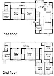 floor plans with guest house floor freebell guest house