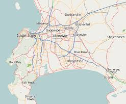 Map Of Cape Town South Africa by Cape Town Wikipedia