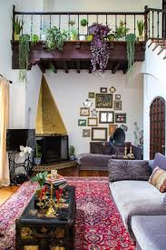interior bohemian living room decor for beautiful cosy bohemian