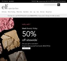 lush cosmetics black friday e l f cosmetics black friday 2017 sale u0026 deals blacker friday