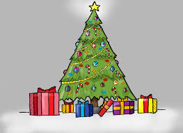 drawings of a christmas tree christmas tree drawing ideas for kids