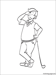 grandpa caillou coloring coloring pages