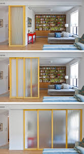How To Divide A Room Without A Wall 29 Sneaky Tips U0026 Hacks For Small Space Living Sliding Wall