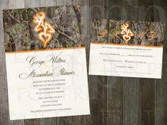 Camo Wedding Invitations Buck And Doe Wedding Invitation By Theinkbasket On Etsy 15 00