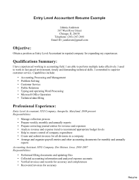 sle resume for entry level accounting clerk san diego accountant job cv format elegant finance executive resume exle