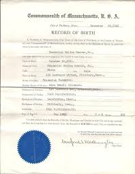 fake birth certificate template free