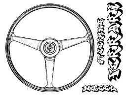 ferrari car steering wheel parts coloring pages place color