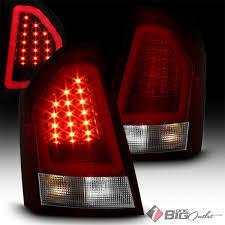 fiber optic tail lights spyder 2005 2007 300 red clear led tail lights w fiber optic led