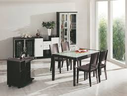 Leather Tufted Chairs Small Dining Room Round Table Round Pedestal Dining Table Dark