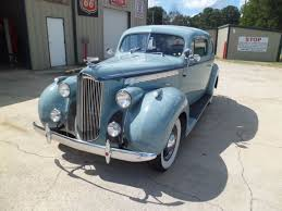 1940 packard 110 sedan silver french gray sedan flathead 6 manual