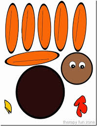 turkey template free thanksgiving printable turkey pattern best