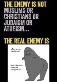 Atheist Vs Christian Meme - dopl3r com memes the enemy is not muslims or christians or