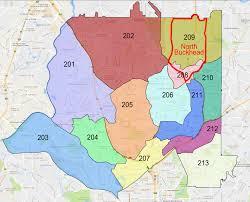 Atlanta Neighborhood Map by 2016 Crime Report