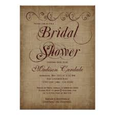 vintage bridal shower invitations country bridal shower invitations rustic country wedding invitations