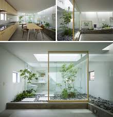 home garden interior design atrium multi level interior garden dense urban settings such